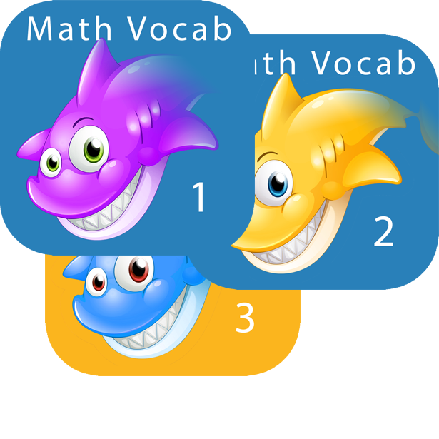 Great apps for ensuring your child understands  the words used in math class.