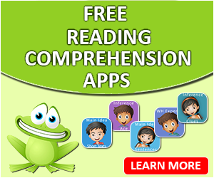 Happy Frog Apps gives away 50 promo codes per month for their award-winning, reading comprehension apps. Click here to find out how to get yours!