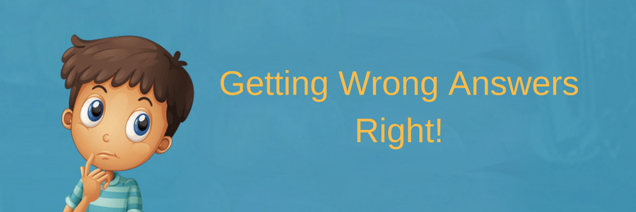 Getting Wrong Answers Right – Happy Frog Apps
