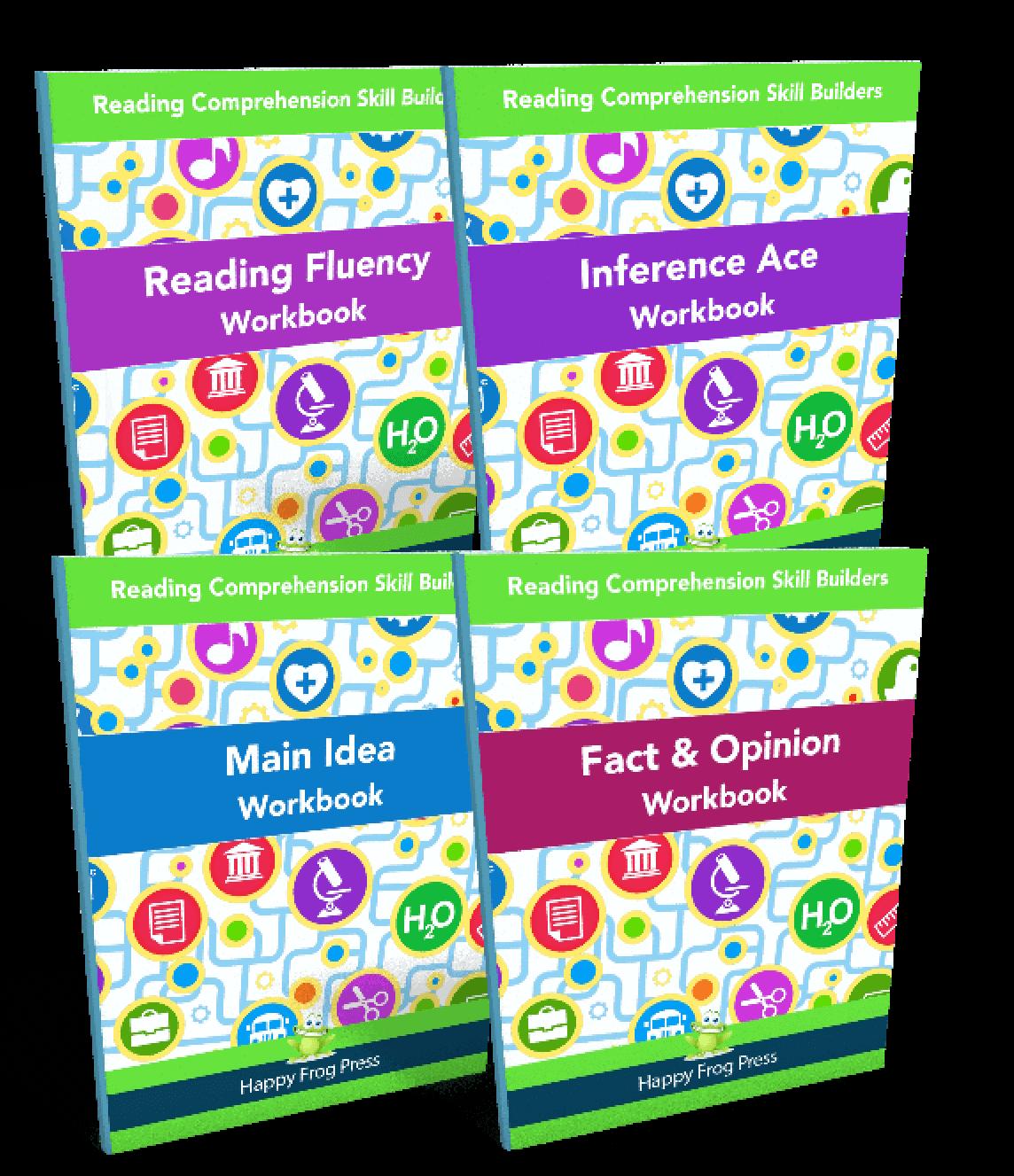 reading workbooks bundle happy frog apps